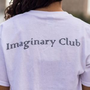 Imaginary Club White Logo Shirt