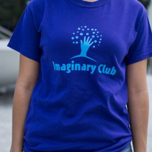 Imaginary Club Purple Logo Shirt